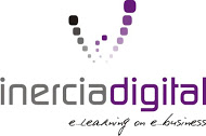 LOGO vertical slogan inercia digital