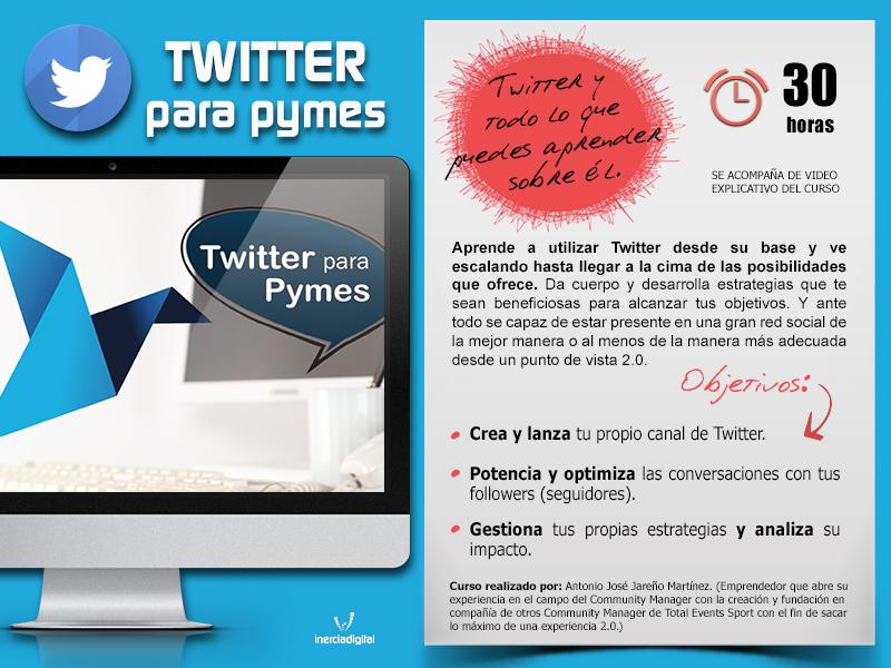 Curso Twitter para pymes