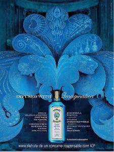anuncio color azul