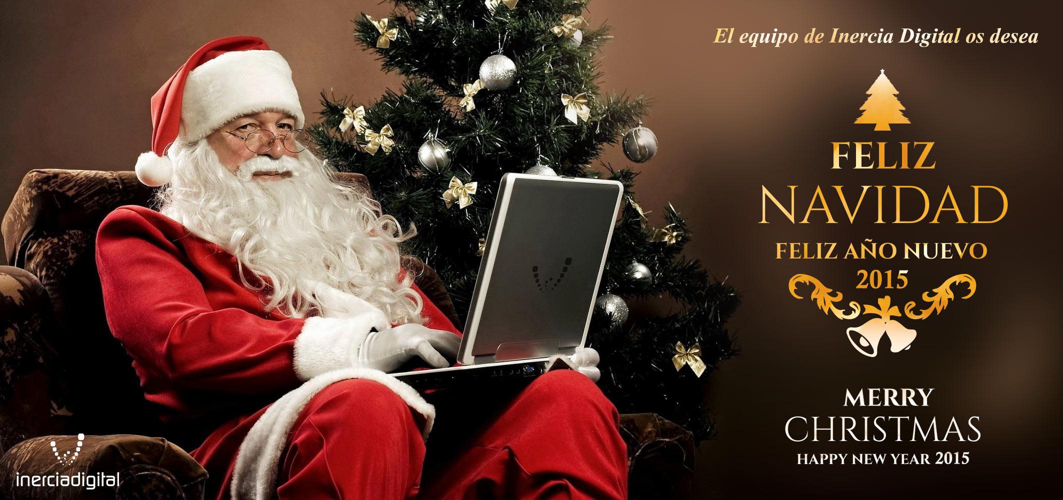 feliz navidad Inercia Digital