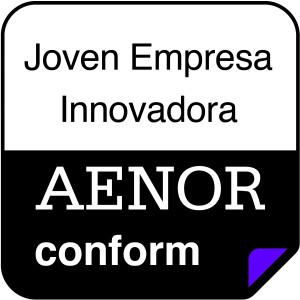 AENOR joven empresa innovadora cmyk