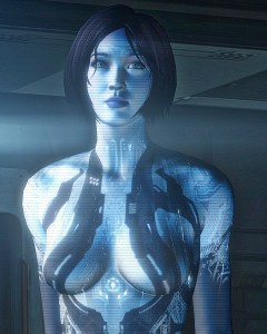 Ésta es Cortana antes de que le quitaran el jeto para meterla en Windows.